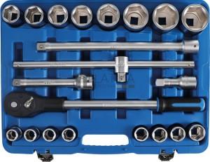 BGS Technic 21 részes dugókulcskészlet | 20 mm (3/4 )