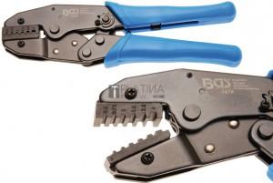 BGS Technic Racsnis kábelsarufogó   Érvéghüvelyek 0,5 - 4 mm²