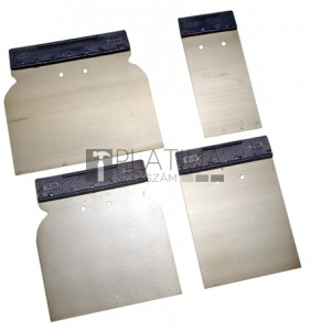 BGS Kraftmann Japánsimító készlet | rugóacél | 50/ 80 / 100 / 120 mm | 4 darabos