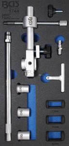 BGS Technic Levegős szeleprugó feszítő készlet | 15 darabos