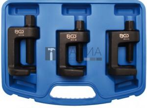 BGS Technic Gömbcsukló kinyomó készlet | 23 - 28 - 34 mm | 3 darabos