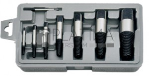 BGS Kraftmann Csavarkiszedő készlet | M3 - M50 | 8 darabos