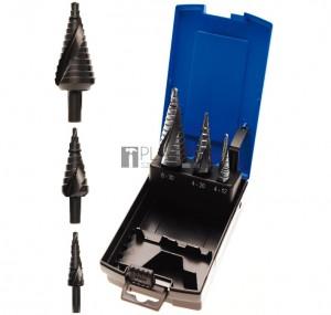 BGS Technic Lépcsős fúró készlet | Ø 4 - 30 mm | 3 darabos