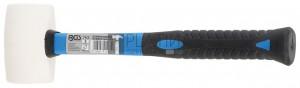 BGS Technic Gumikalapács | fehér fejű | Ø 48 mm | 250 g