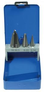 BGS Technic Kúpos fúró készlet   HSS   3 méret   3 darabos
