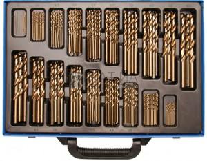 BGS Technic Spirálfúró készlet | HSS | 5% kobaltötvözet | 1 - 10 mm | 170 darabos