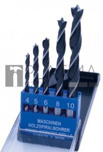 BGS Kraftmann Fafúró-készlet | 4 - 10 mm | 5 darabos