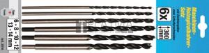 BGS Kraftmann Fafúró-készlet | 6 - 14 mm | 6 darabos