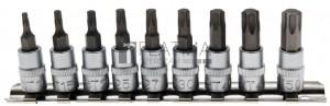BGS Technic Behajtófej-készlet   6,3 mm (1/4)   T-profil (Torx) T10 - T50