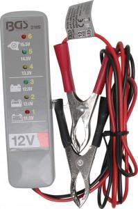 BGS Technic Akkumulátor- és töltőrendszer-vizsgáló készülék