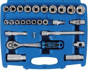 BGS Technic Dugókulcskészlet | 10 mm (3/8 ) | 26 darabos