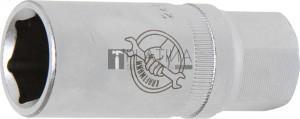 BGS Kraftmann Gyújtógyertya kulcs hatszögletű   12,5 mm (1/2 )   18 mm