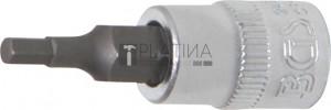 BGS Technic Behajtófej | 6,3 mm (1/4 ) | Belső hatszögletű 3 mm