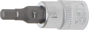 BGS Technic Behajtófej | 6,3 mm (1/4 ) | Belső hatszögletű 4 mm