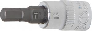 BGS Technic Behajtófej | 6,3 mm (1/4 ) | Belső hatszögletű 5 mm