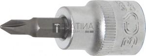 BGS Technic Behajtófej | 10 mm (3/8 ) | Csillag PH1