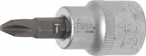 BGS Technic Behajtófej | 10 mm (3/8 ) | Csillag PH2