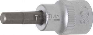 BGS Technic Behajtófej | 10 mm (3/8 ) | Belső hatszögletű 6 mm