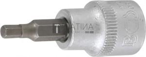 BGS Technic Behajtófej | 10 mm (3/8 ) | Belső hatszögletű 5/32
