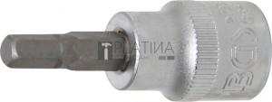 BGS Technic Behajtófej | 10 mm (3/8 ) | Belső hatszögletű 7/32