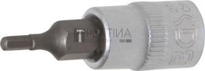 BGS Technic Behajtófej | 6,3 mm (1/4 ) | Belső hatszögletű 3/32