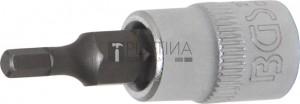 BGS Technic Behajtófej | 6,3 mm (1/4 ) | Belső hatszögletű 1/8