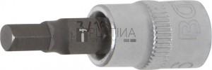 BGS Technic Behajtófej | 6,3 mm (1/4 ) | Belső hatszögletű 3/16