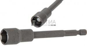 BGS Technic Dugókulcs, hatszögletű, extra hosszú | Fúrógép | Külső hatszögletű 6,3 mm (1/4 ) | 13 mm