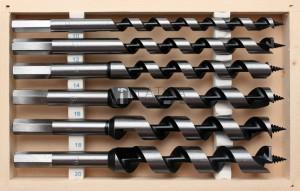 BGS Technic fafúró készlet | 200 mm | 6 darabos