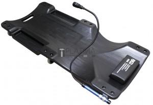 BGS Technic Gurulós szerelőpad munkalámpával | 1030 x 500 mm