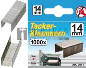 BGS Kraftmann Kapcsok | típus: 53 | 14 x Ø 1,2 mm | 1000 db