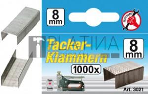 BGS Kraftmann Kapcsok | típus: 53 | 8 x Ø 1,2 mm | 1000 db
