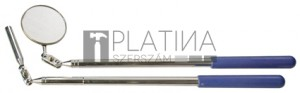 BGS Kraftmann Mágneses felszedő és ellenörző tükör készlet | 2 darabos