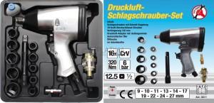 BGS Kraftmann Légkulcs szerszámkészlettel | 12,5 mm (1/2 ) | 312 Nm | 16 darabos