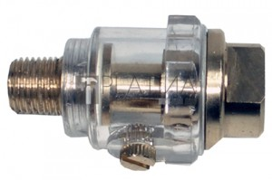 BGS Technic Automatikus levegős olajozó | Tömlőcsatlakozó: 6,3 mm (1/4 )
