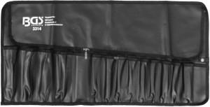 BGS Technic 15 rekeszes dupla tasakos szerszámkészlet | 660 x 320 mm | üres
