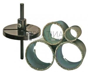 BGS Technic Csempe körkivágó készlet | 33 - 73 mm | 6 darabos