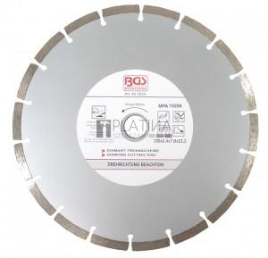 BGS Kraftmann Szegmentált vágókorong | Ø 230 mm