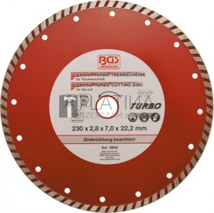 BGS Kraftmann Turbo-vágókorong | Ø 230 mm