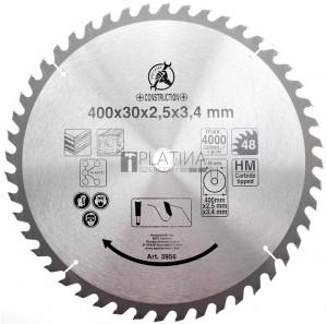 BGS Kraftmann Keményfém körfűrészlap | Ø 400 x 30 x 3,2 mm | 36 fogú