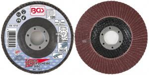 BGS Technic lamellás csiszolótárcsa | Ø 115 mm | K 120