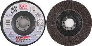 BGS Technic lamellás csiszolótárcsa | Ø 115 mm | K 60