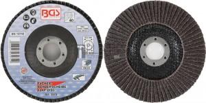 BGS Technic lamellás csiszolótárcsa | Ø 125 mm | K 40