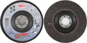 BGS Technic lamellás csiszolótárcsa | Ø 125 mm | K 60