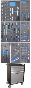 BGS Technic  Azubi  műhelykocsi | 151 szerszámmal