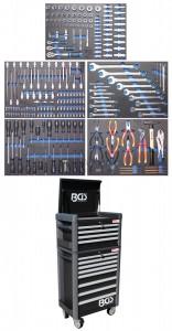 BGS Technic Profi Standard Maxi műhelykocsi | 263 szerszámmal
