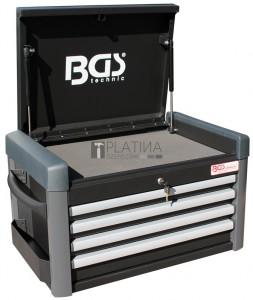 BGS Technic Műhelykocsi-rátét PROFI műhelykocsihoz | 4 fiók | üres