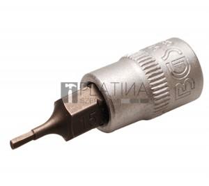 BGS Technic Behajtófej | 6,3 mm (1/4 ) | Belső hatszögletű 1,5 mm
