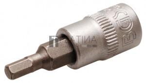 BGS Technic Behajtófej | 6,3 mm (1/4 ) | Belső hatszögletű 3,5 mm