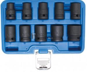 BGS Technic Levegős dugókulcskészlet hatszögletű | 12,5 mm (1/2 ) | 10 - 24 mm | 10 darabos
